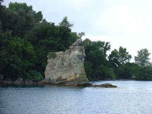 Bolsena See - Isola Bizantina