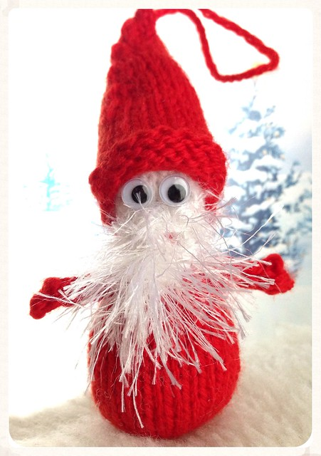 Googly Santa Decoration