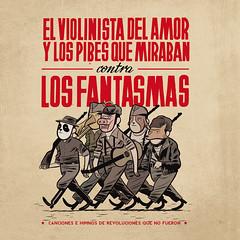 El Violinista del Amor - Contra Los Fanstamas - TAPA
