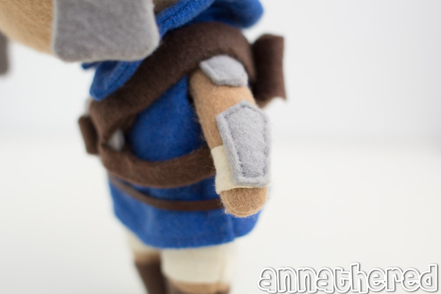 stuffed stuff: Jak & Daxter Easter Egg plush from the Last of Us