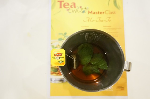 A twist to your Lipton tea moments - Chef Nik - AFC