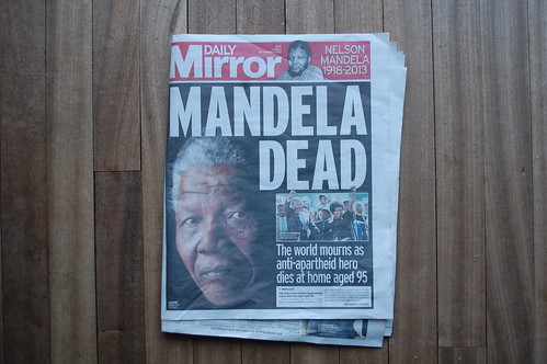 The Mirror - Nelson Mandela death