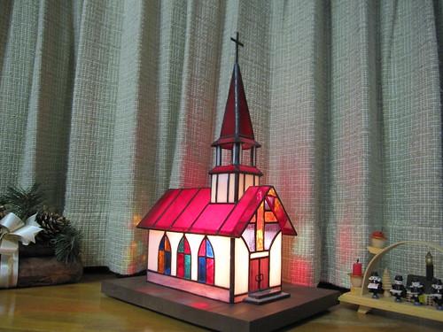 ステンドグラスの教会 by Poran111