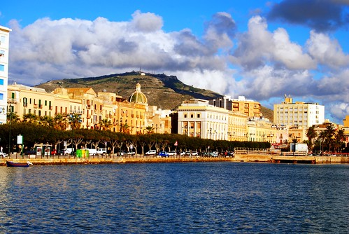 Trapani from the Port