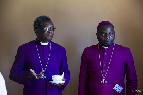Bp James Tengatenga with Bp Fanuel Magangani