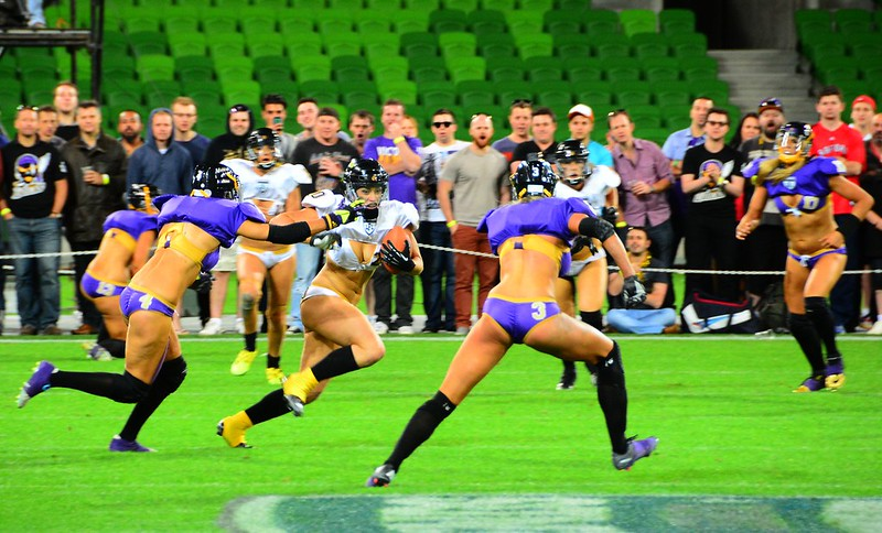 Legends Football League (Victoria Maidens vs Western Australia Angels)