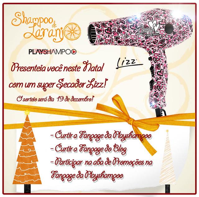 Sorteio de Natal Shampoo de Laranja e Play Shampoo: Concorra a um secador lindo!