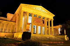 Museum of Fine Arts, Budapest, Hungary by Night