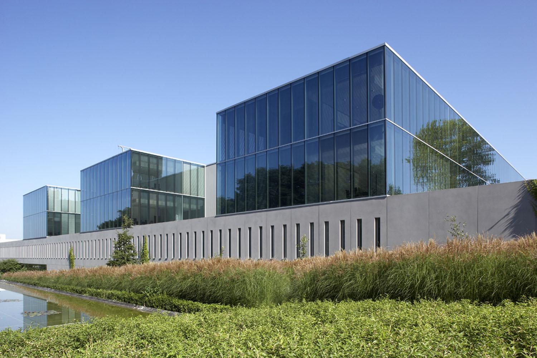 Telindus Haasrode design by Crepain Binst Architecture