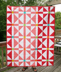 Rosy Windows Quilt