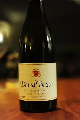 2003 David Bruce Santa Cruz Pinot Noir