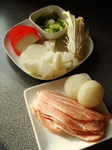 Japanese New Year: Ozoni Ingredients