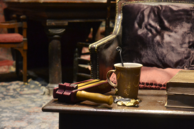 Daisybutter - UK Style and Fashion Blog: Hogwarts in the Snow, Harry Potter Studio Tour, Leavesden