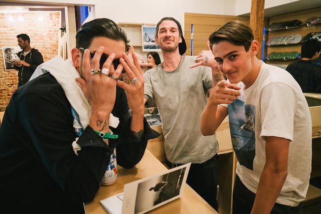 Steve Hernandez, DJ Chavez, & Jacob Messex