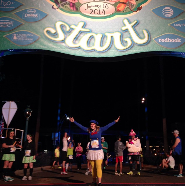 RunDisney Tinker Bell 10K Starting Line
