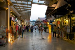 Asiatique - The riverfront, shopping and dining by the Chao Phraya river in Bangkok, Thailand