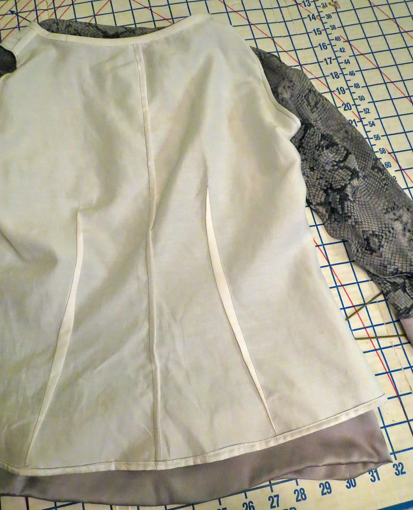 Lining with French Seams