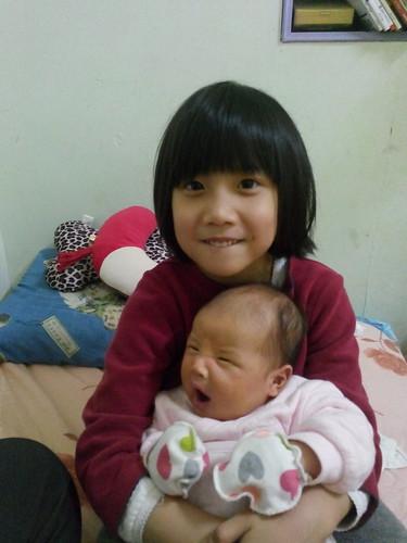 杉愛抱寶寶