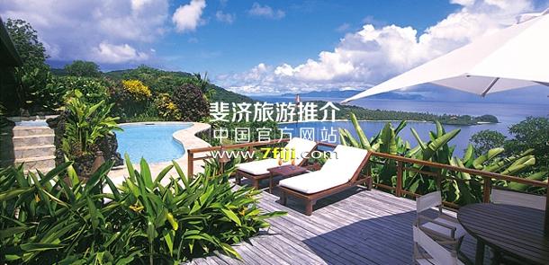 私人阳光露台与游泳池