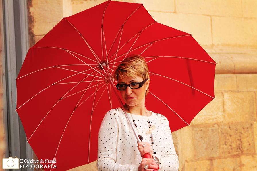 Paraguas San Valentín