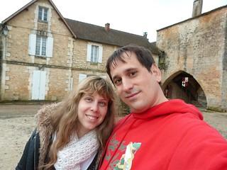 Sele y Rebeca en Francia