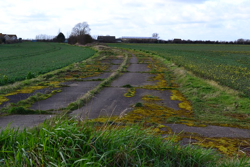 RAF Mepal peri track south of the Airfield