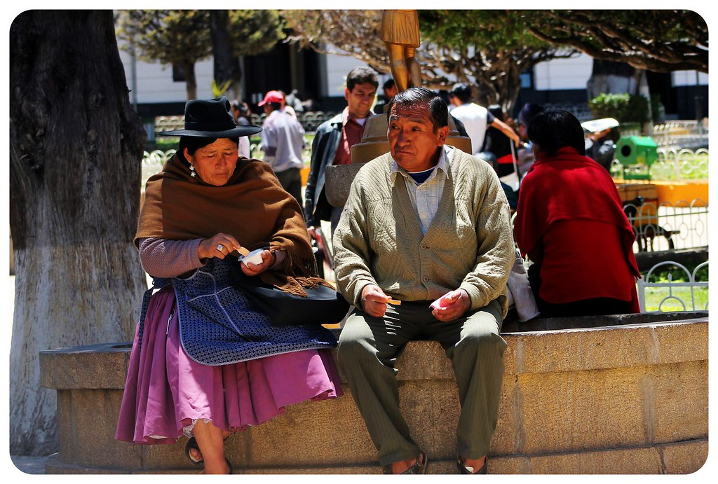 bolivian couple
