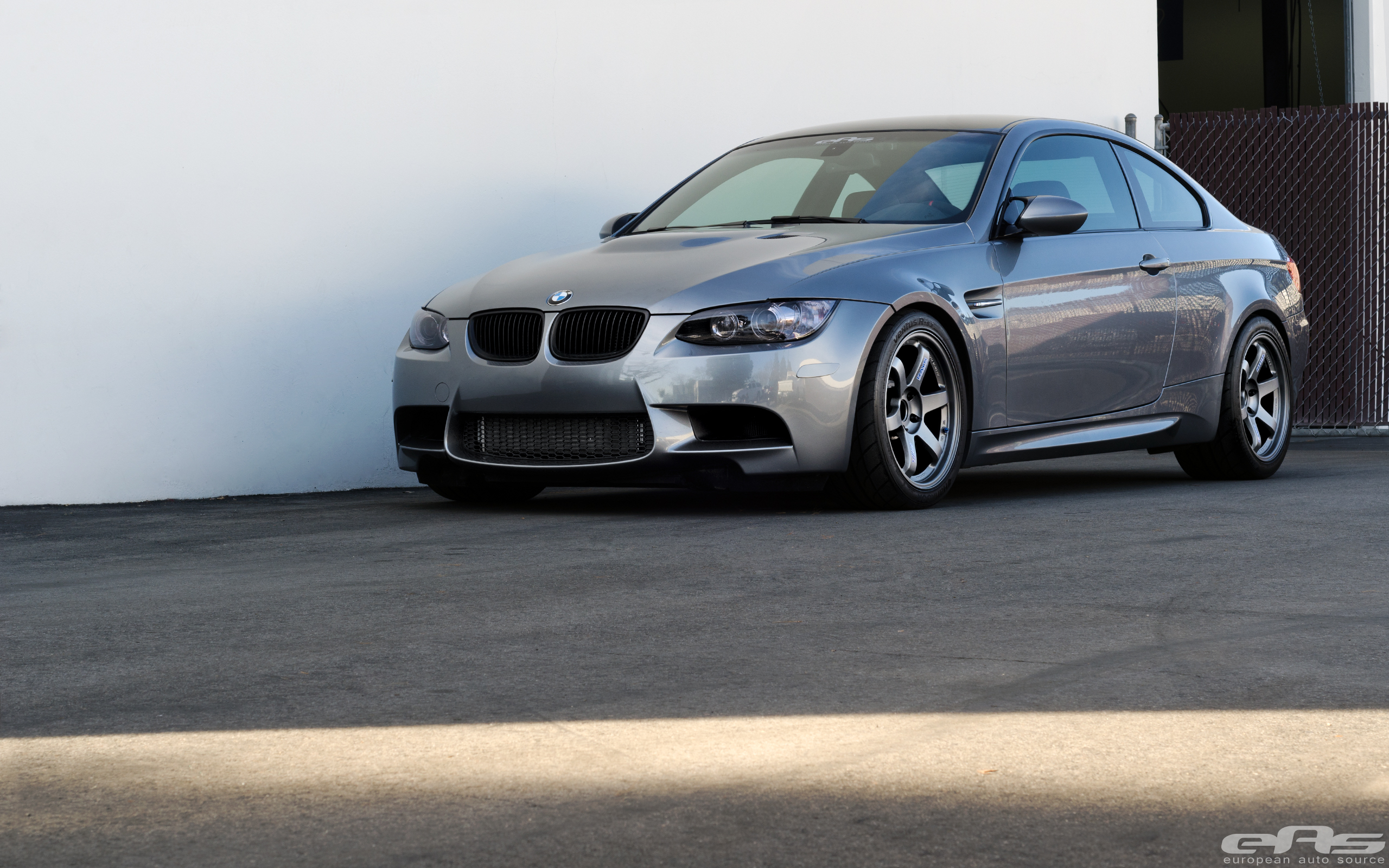 Space Gray E92 M3 On Matte Gray Te37s Bmw Performance Parts Amp Services