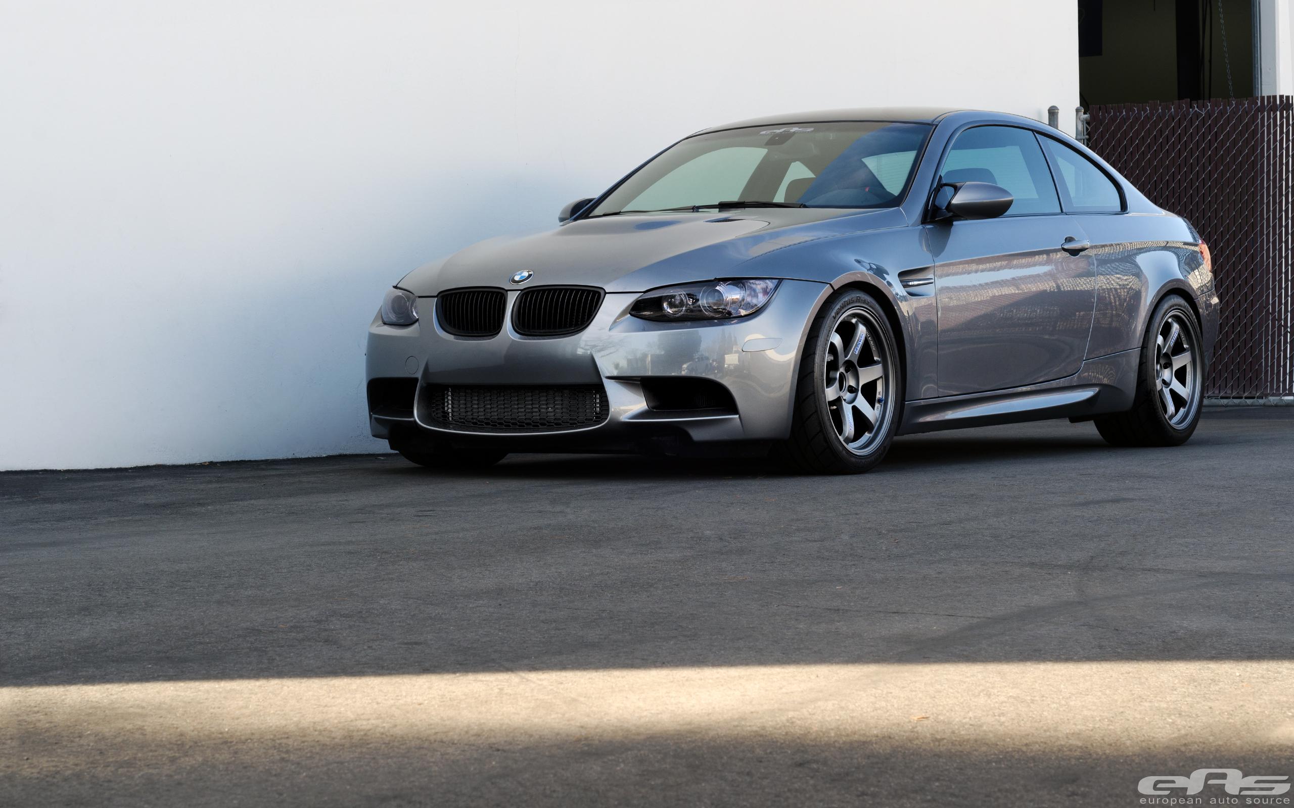 Space Gray E92 M3 on Matte Gray TE37s   BMW Performance ...
