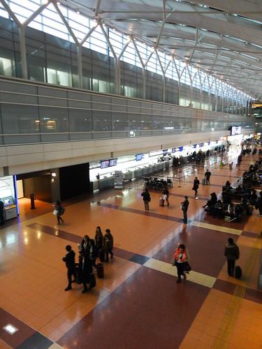 20140301早朝の羽田空港