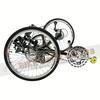369-001 TW-BENTS MANTIS螳螂-進階款可摺疊斜躺三輪車27速黑-3