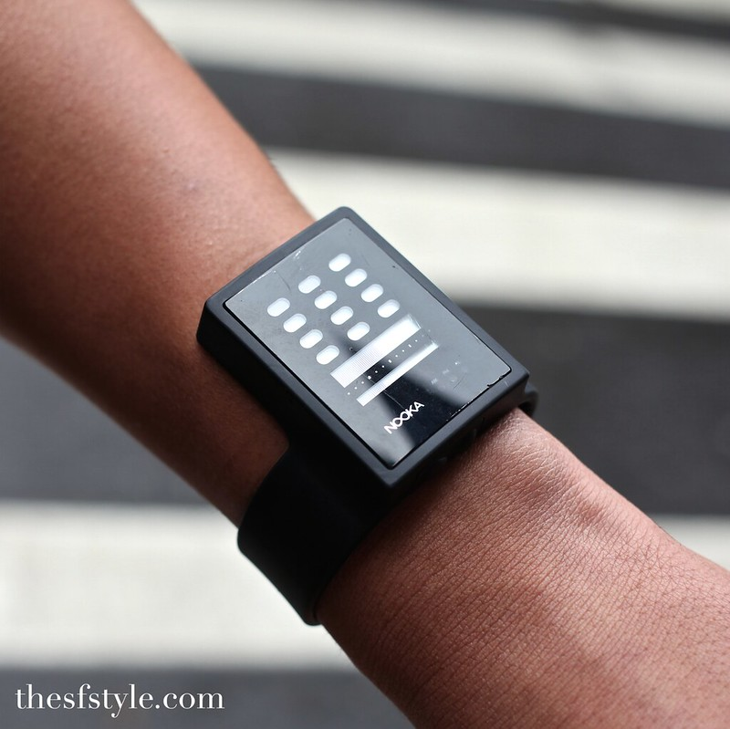 zub nooka watch, san francisco streetstyle fashion blog,