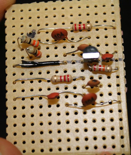 Step 10- Fix R4 and R5- 33Ohm resistors