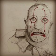 Draw Sad Clown Guilherme Boarao Flickr