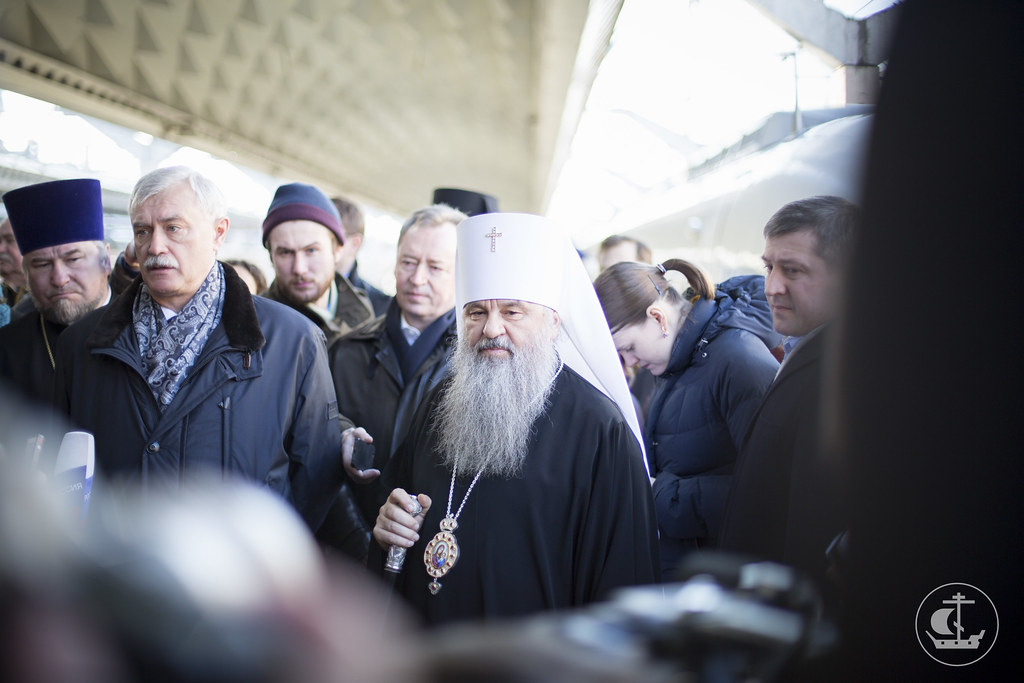 22 марта 2014, Встреча митрополита Варсонофия / 22 March 2014, Meeting metropolitan Barsanuphius