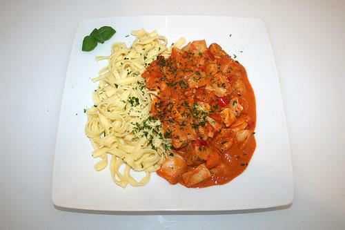 38 - Fischgulasch - Serviert / Fish goulash - Served