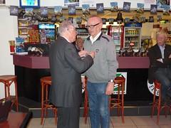 Jan Brussee 40 jaar lid