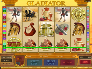 Gladiator Bonus Game