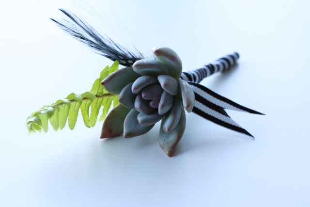 completed boutonniere 2