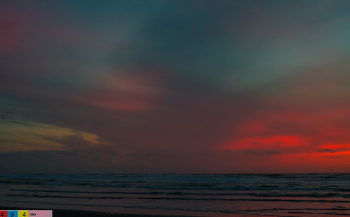 North Coast Crush: A Dramatic Sunset (Part 145): Flaming Emotions (in Technicolor)