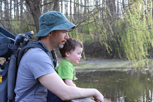Meadowlark Botanic Gardens - Ryan and Sagan Watch Turtles