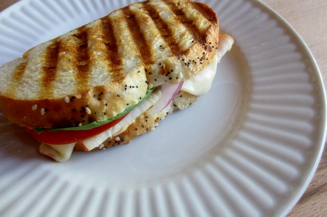 52 sandwiches #31: chicken panini