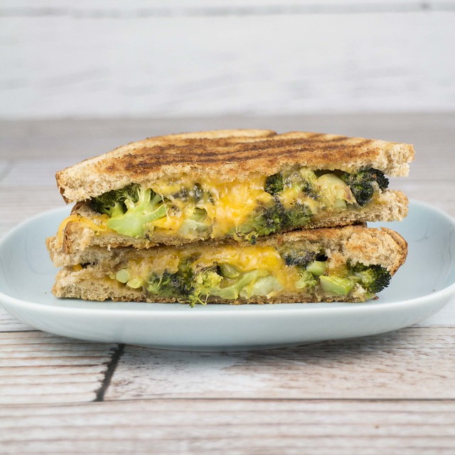 Broccoli Grilled Cheese Sandwich_2