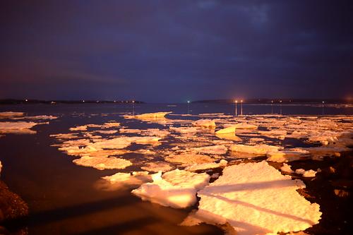 Icebergs in Victoria Park, Charlottetown, P.E.I.
