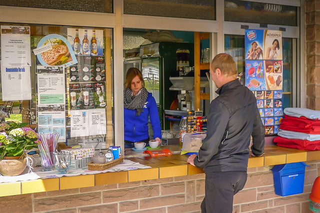 Bitburg Stausee kiosk