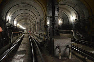 Image of Thames Tunnel. station rail tunnel wapping thamestunnel