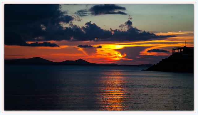 4853 Naxos Sunset, Greece