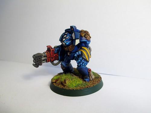 Space Marine Terminator Squad No.1 (08)