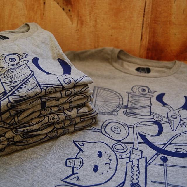 Thimblecap Print DIYorDIE shirts-square-sm