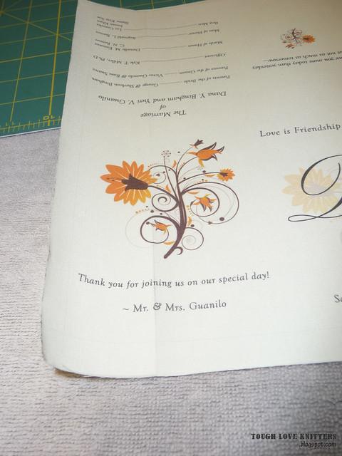Wedding Handkerchief - Multip Paper (2)